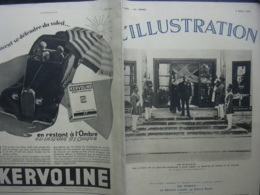 L'ILLUSTRATION 4822 ST ANDRE CUBZAC/ MAROC/ PEKIN/ PHOTOS COURSES/ - Journaux - Quotidiens