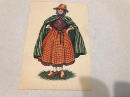 1 Carte De Costume Région Flandre - Nord-Pas-de-Calais