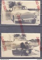 Au Plus Rapide Beau Plan Avant Simca P 60 Chien Datée 21 Mars 1961 - Automobiles
