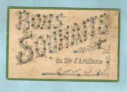 Patriotiques Bons Souhaits 29 Artillerie - Patriotiques