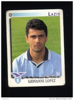 Figurina Calciatori Italiani Panini 1997-1998 - Lazio - N.175 Giovanni Lopez - Football - Soccer - Socker - Fussball - Panini
