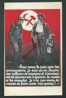 Communisme, Russie. Illustration Signée. - Partis Politiques & élections