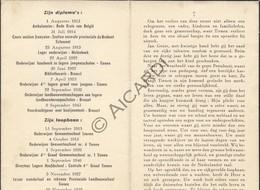 Doodsprentje Jan Genie °1894 Tienen †1949 Directeur Lagere School -  Echtg. Marie Wilhelmine Gelpkens   (B186) - Obituary Notices