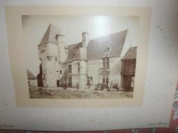 PHOTOGRAPHIE  Très  Ancienne  Du    Château  De    CHEMERY -     Cliché  LEMAIRE -  N 2 - France
