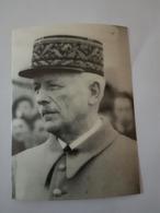 Le Général FRERE  Mourra Au Camp De Déportation De Struthof En Alsace  Photo 15cm/11cm - 1939-45
