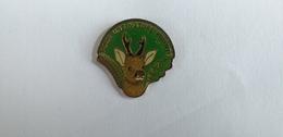 PIN'S CHASSE : POUR UNE NATURE VIVANTE FDC 56 MORBIHAN - Badges