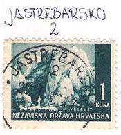 CROATIA 1941.-1945  JASTREBARSKO 2 Postmark - Croatia