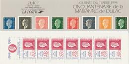 Cinquantenaire De La Marianne De Dulac - 1994 - Yet T N° BC2865 - Mi FR MH 34 - Libretti