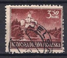 CROATIA 1941.-1945  JELSA Postmark - Croatia