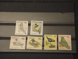 AUSTRALIA - 1980 UCCELLI 5+1 VALORI - NUOVI(++) - 1980-89 Elizabeth II