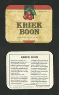 Sotto-boccale O Sottobicchiere - Kriek 3 - Birra - Bier - Beer Mats - Sous Bocks - Bierdeckel - Pils - Beer - Sotto-boccale