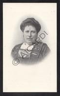Doodsprentje Maria Rosalie D'Hooghe °1857 Antwerpen †1913 Gent Echtg. Désiré Vander Meulen (B227) - Obituary Notices