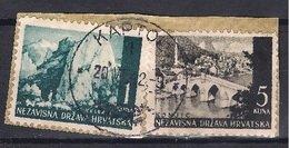 CROATIA 1941.-1945  KAPTOL 1 Postmark - Croatia