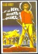 Carte Postale (cinéma Affiche Film Western) ...Et Le Vent Apporta La Violence (Klaus Kinsky) - Affiches Sur Carte