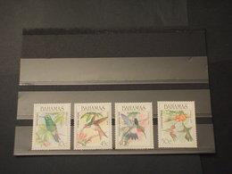 BAHAMAS - 1989 UCCELLI 4 VALORI - NUOVI(++) - Bahamas (1973-...)