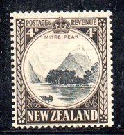 APR1091 - NEW NUOVA ZELANDA 1935 ,   Yvert  N. 199  Linguellato  * (2380A) - 1907-1947 Dominion