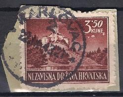 CROATIA 1941.-1945  KARLOVAC 2 Postmark.....flaw Below KUNE - Croatia