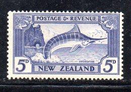 APR1092 - NEW NUOVA ZELANDA 1935 ,   Yvert  N. 200  Linguellato  * (2380A) - 1907-1947 Dominion