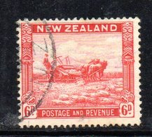 APR1094 - NEW NUOVA ZELANDA 1935 ,   Yvert  N. 201  Usato (2380A) - Usati