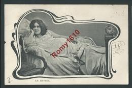 Belle Série De 11 Cartes. Jeunes Filles, Femmes élégantes,  Envoyées à La Même Personne. 1902. Voir Les 22 Scans. - Cartes Postales