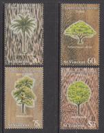 1986 St. Vincent Trees Arbres  Complete Set Of 4  MNH - St.Vincent (1979-...)