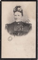Doodsprentje Rosalia Catharina Lontie °1835 Holsbeek †1910 Droeshout-Opwijk Echtg. Joseph Leopold Vermeyen (B219) - Obituary Notices