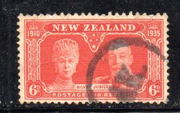 APR1098 - NEW NUOVA ZELANDA 1935 ,   Yvert  N. 209  Usato (2380A)  Giubileo - Usati