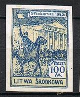 LITUANIE CENTRALE OCC POLONAISE 42* ND - Lithuania