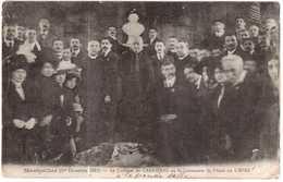 CPA HERAULT.MONTPELLIER.1 DECEMBRE 1912.LE CARDINAL DE CABRIERES AU BI-CENTENAIRE DE L'ABBE DE L'EPEE - Montpellier