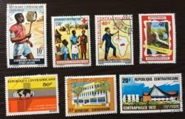 Central Africa Republic - CTO - 159, 166, 161, 175, 158, 174 - Central African Republic
