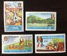 Central Africa Republic - CTO - 341/344 - Central African Republic