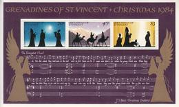 1984 St. Vincent  Grenadines Christmas Noel Souvenir Sheet  Complete MNH - St.-Vincent En De Grenadines