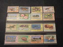 ANGUILLA - 1977/8  FAUNA 16 VALORI - NUOVI(++) - Anguilla (1968-...)