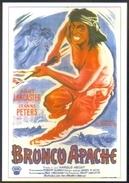 Carte Postale (cinéma Affiche Film Western) Bronco Apache - Affiches Sur Carte