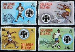 (dcos-391)   Solomon Isl.  -  Iles Salomon  -  Solomon Eil.    Mi 276-79   Yv  273-76      1975   MNH - Solomon Islands (1978-...)