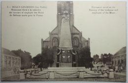 BULLY LES MINES Monument Aux Employés Et Ouvriers De Béthune - France