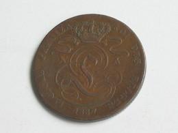 5 Centimes 1837 - Belgique - Léopold Premier Roi Des Belges  **** EN ACHAT IMMEDIAT **** - 1831-1865: Léopold I