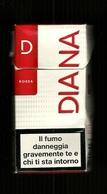 Tabacco Pacchetto Di Sigarette Italia - Diana Rossa Da 10 Pezzi Bis - Tobacco-Tabac-Tabak-Tabaco - Porta Sigarette (vuoti)