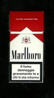 Tabacco Pacchetto Di Sigarette Italia - Malboro 2 Da 10 Pezzi Bis - Tobacco-Tabac-Tabak-Tabaco - Porta Sigarette (vuoti)