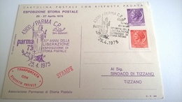 1975 TRASPORTO STAFFETTA POSTALE - POSTA PARTIGIANA - Esposizioni