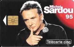 CARTE-PRIVEE-5U-01/95-GN198-GEMA-MICHEL  SARDOU 95-NEUVE-TBE-LUXE - France