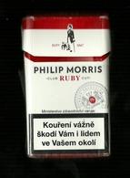 Tabacco Pacchetto Di Sigarette Rep. Ceca  - Philip Morris Da 20 Pezzi  ( Tobacco - Tabac - Tabak - Tabaco ) - Porta Sigarette (vuoti)