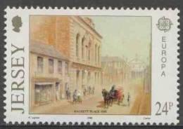 Jersey 1990 Mi 511 ** Head Post Office, Halkett Place (1890) / Postamt  / Bureau De Poste – Europa Cept - Jersey