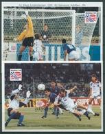 Lesotho 1994 Fußball-WM In Den USA Torszenen Block 111/12 Postfrisch (C27183) - Lesotho (1966-...)