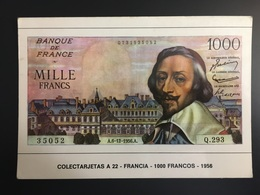 Billetes FRANCIA - Monnaies (représentations)