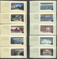 2003   Tourist Attractions Singles From 2 Booklets  Sc 1989-90 - 1952-.... Reign Of Elizabeth II