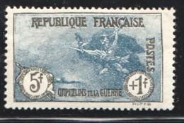 1926  Orphelins 3è Série 5 Fr + 1 Fr  Yv 232 ** - Francia