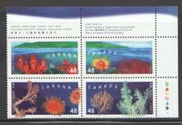 2002  Corals - Block Of 4 Se-tenant  Sc 1948-51  MNh - Ungebraucht