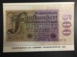 Billetes ALEMANIA - Monnaies (représentations)
