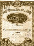 S.A. Des MINES De CUIVRE De SARDAIGNE - Mines